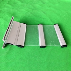 Affordable cheap price transparent polycarbonate rolling shutters slats | PC100