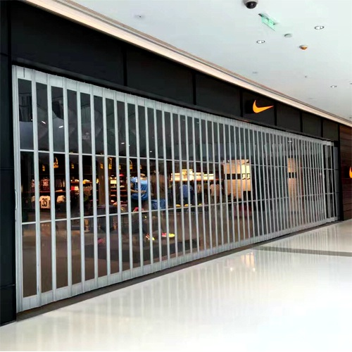 Security Polycarbonate sliding side folding closures